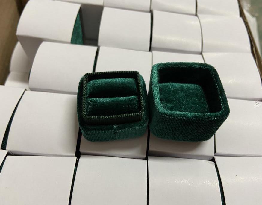 Velvet Ring(S)Green