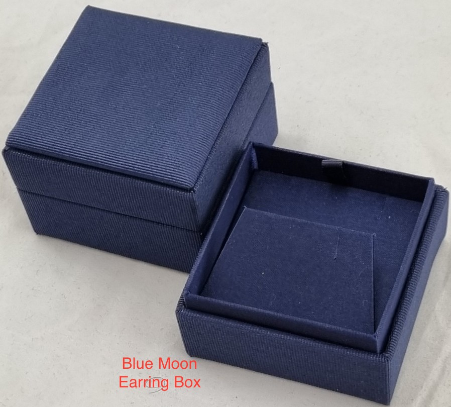 Blue Moon Box with Earring Ramp
