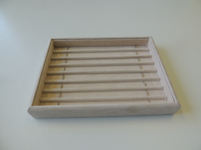 Bracelet Tray with Dividers - Small