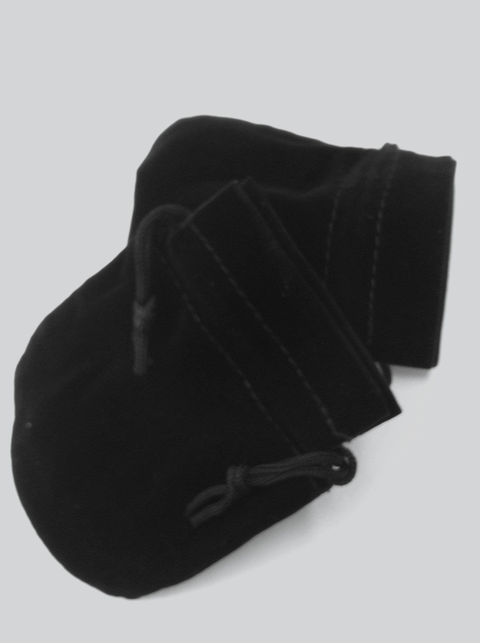 U Shape Black Pouch