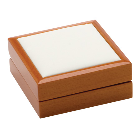 Luxury Leather Earring Box Closed