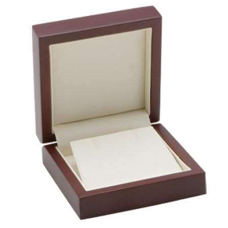 Luxury Timber Earring Box Open