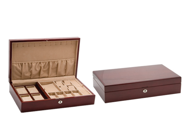 Large Jewellery Collection Case (Mahogany)