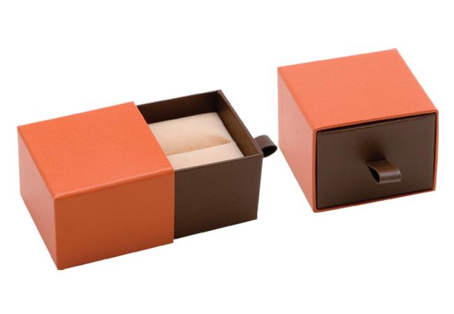 Orange Vogue Ring Box
