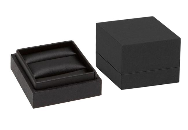 Black Envy Double Ring/ Cufflinks Box