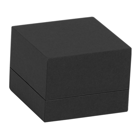 Black Envy Double Ring Box Closed