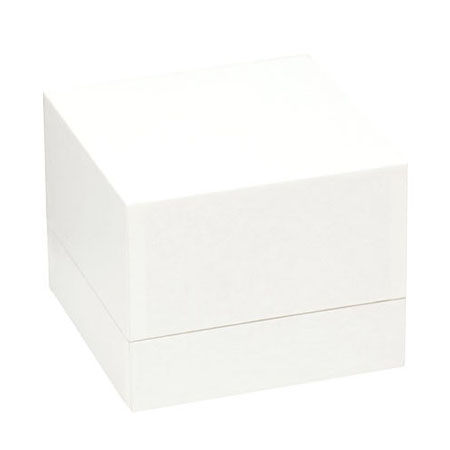 White Envy Dble Ring Box (closed)