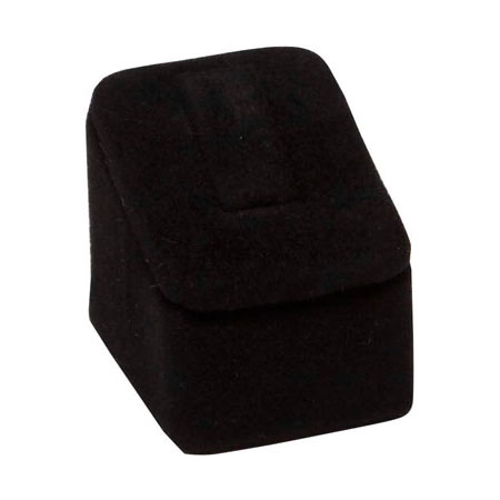 Mini Ring Stand (Black Suede)