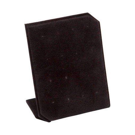 Black Suede Stud Earring Stand (small)
