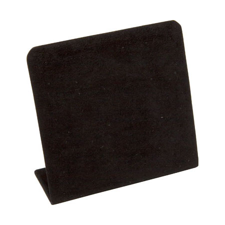 Black Suede Stud Earring Stand