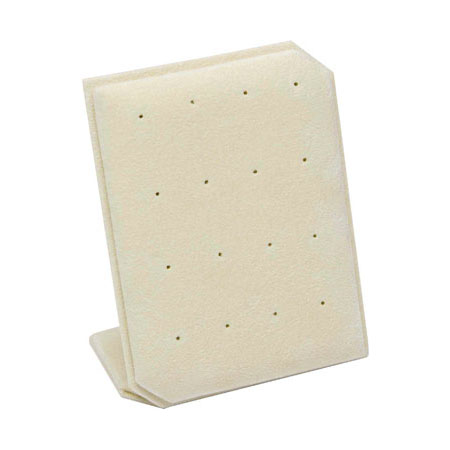 Camel Suede Stud Earring Stand - small