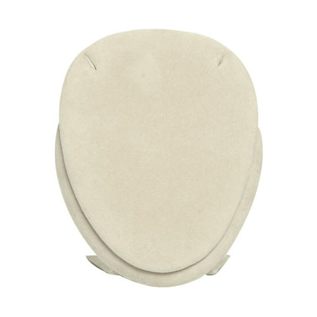 Oval Pendant Stand (Camel Suede)