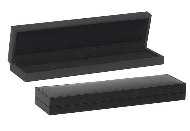 Black Suede Bracelet Box