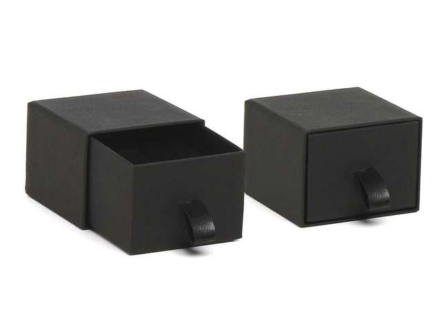 Black Vogue Ring Box