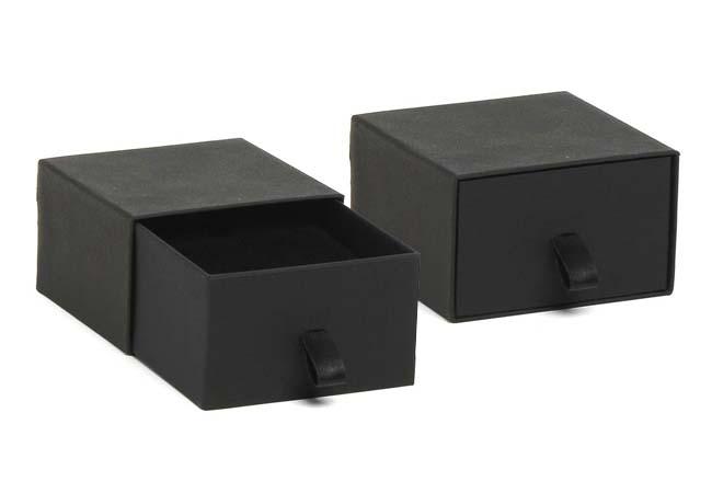 Black Vogue Large Earring/ Pendant Box