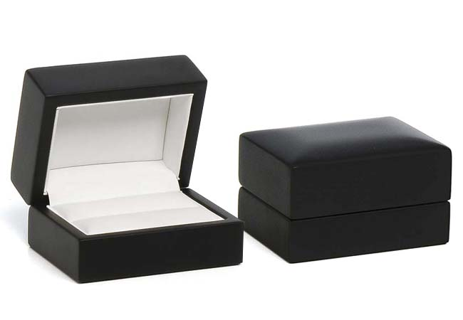 Modern Elegance Double Ring/ Cufflinks Box