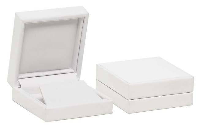 Pure White Tall Earring Box
