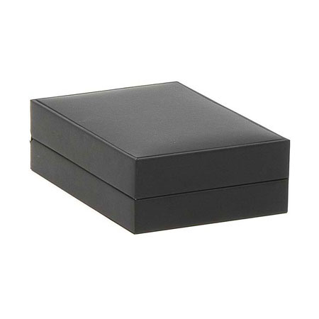 Black Suede Pendant Box