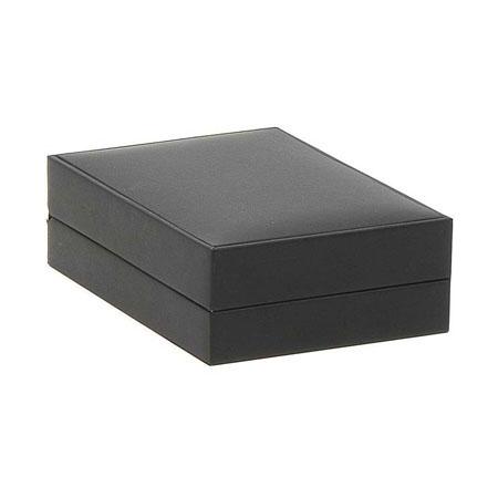 Black Suede Pendant Box