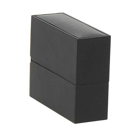 Black Suede Bangle Box