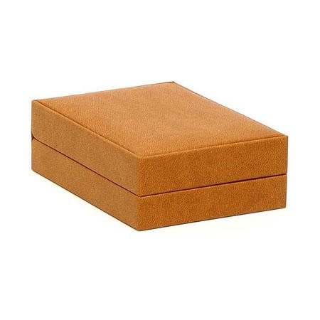 Brown Suede Pendant Box