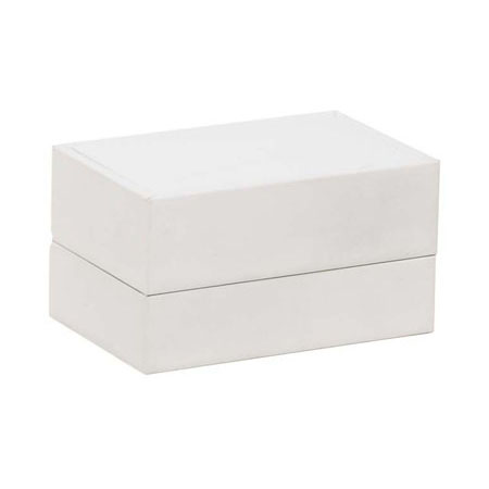Pure White Double Ring Box