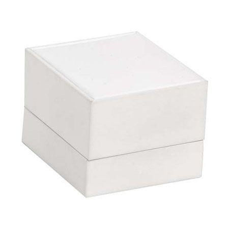 Pure White Ring Box