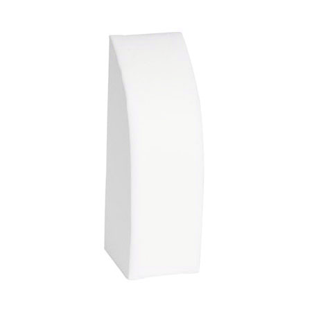 White Leatherette Chain Display (Large)