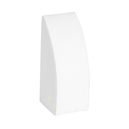 White Leatherette Chain Display (Medium)