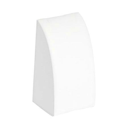 White Leatherette Chain Display (Small)