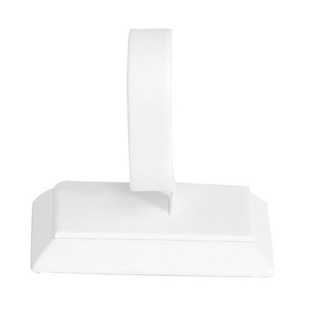 Bangle Stand - Vertical (White Leatherette)