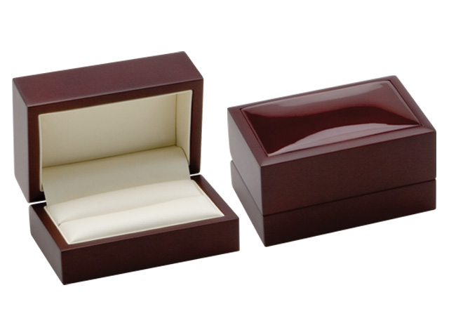 Luxury Timber Double Ring or Cufflinks Box