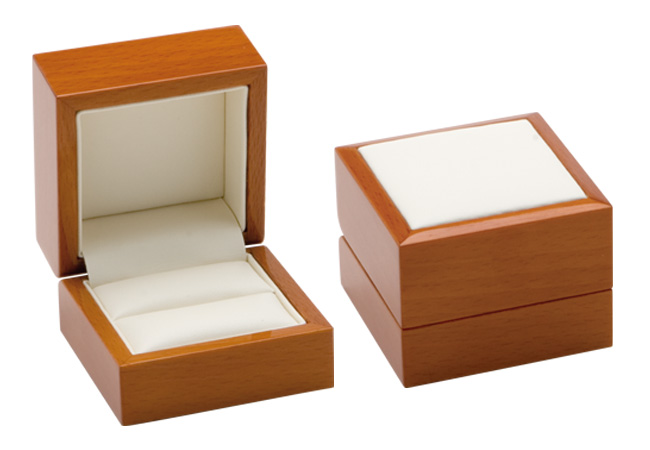 Luxury Leather Ring Box