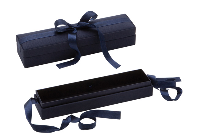 Blue Ribbon Bracelet Box
